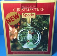 Spode Christmas Tree Multi Color Glass LED CANDLE in Globe Ornament New for 2016 - $24.99