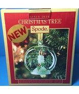Spode Christmas Tree Multi Color Glass LED CANDLE in Globe Ornament New ... - $24.99