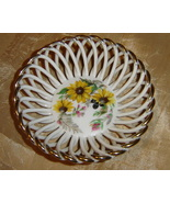 Handmade Weave Lace Porcelain small plate   - $20.25