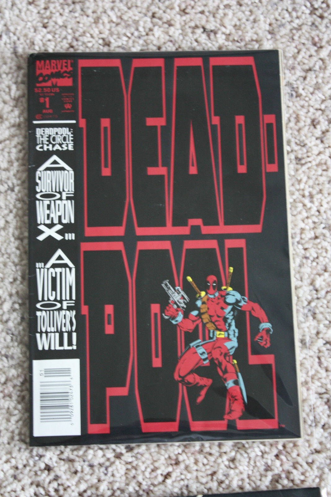 Lot Of 10, DEADPOOL CIRCLE CHASE #1, SQUEE, OSHI, & other Comic Books NO RESERVE