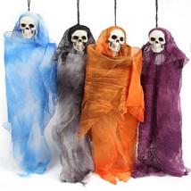 Halloween Skull Ghost Doll Scary Spooky Creepy Haunted House Party Decor... - £7.20 GBP