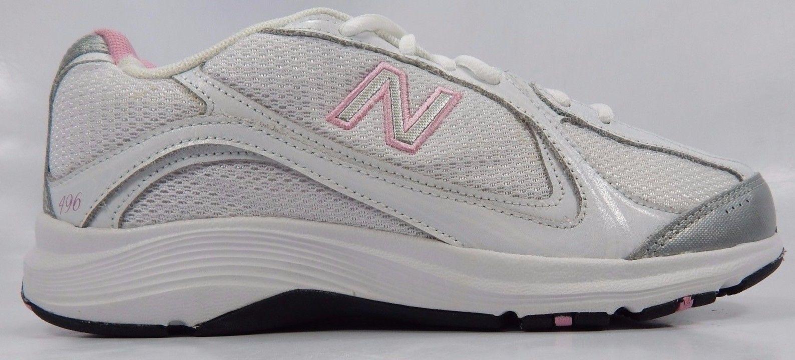 b41c831c59de New Balance 496 Women s Walking Shoes Size US 8.5 M (B) EU 40 White ...