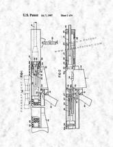 Anti-armor Gun Patent Print - Gunmetal - $7.95+