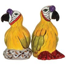 Westland Giftware Ark Safari  Parrots Salt and Pepper Shaker Set, 3-Inch - $8.90