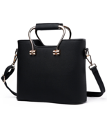 Mixed Color Leather Shoulder Bags Messenger Bags M189-1 Tote Bags - $38.99