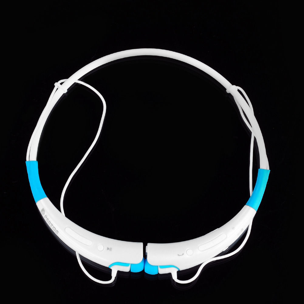 around the neck wireless bluetooth stereo headset headsets. Black Bedroom Furniture Sets. Home Design Ideas