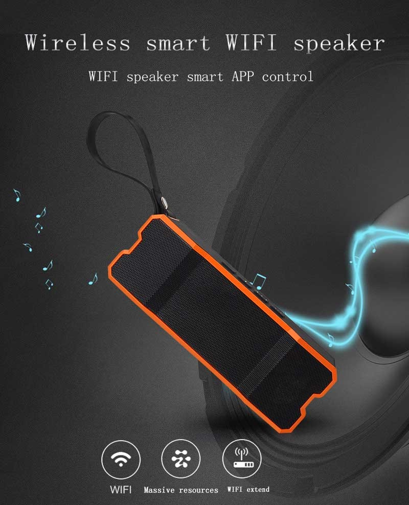 Primary image for Smart Waterproof Wireless Bluetooth WIFI stereo speaker