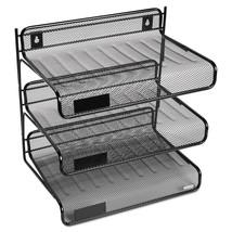 Eldon Expressions Mesh 3 Tier Desk Shelf Unit  - $19.95