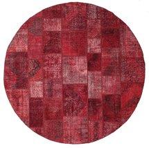 """Patchwork rug  9'10"""" (  300 cm) Oriental, Round Carpet - $1,696.00"""