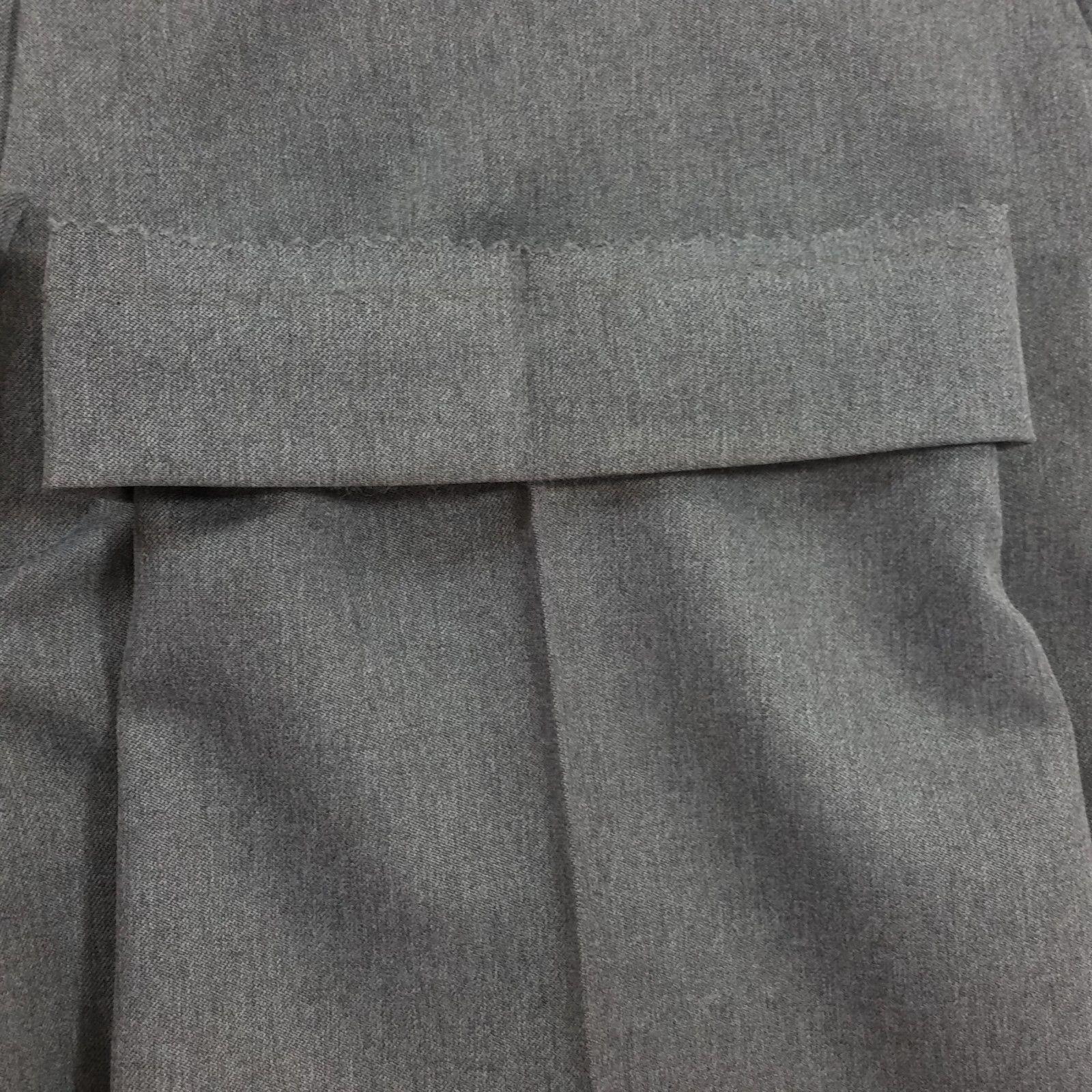 Levi's Action Slacks Sz 38 x 27 Gray Flat Front Vtg Vintage Charcoal #L2