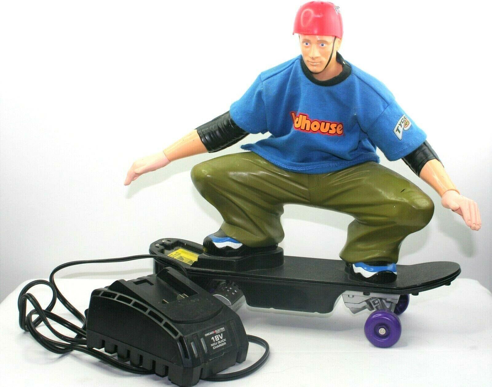 Tony Hawk R/C Skateboarder Extreme Tyco Birdhouse Mattel No Battery Or Remote - $13.99