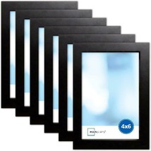 """Picture Frame Photo Wall Mount 4"""" X 6"""", Set Of 6 Hanging Display Decorative - $25.73+"""