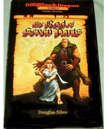 The Rod of Seven Parts by Douglas Niles  Hardcover Book  First Book in S... - $3.00