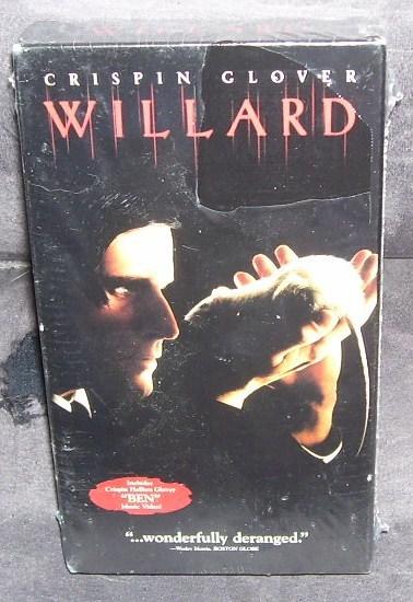 Willard vhs new