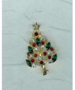Eisenberg  Ice Upswept Christmas Tree Pin Brooc... - $59.00