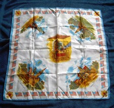 Euc Womens Souvenir Liberty Bell Concord Minuteman Independence Hall Scarf Wrap - $14.80