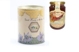Thyme Raw Honey Canister 400gr from Ikaria Island Greek honey NEW HARVEST - $20.80