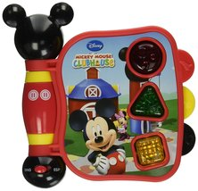 Disney Mickey Mouse Clubhouse First Learning Book, Shapes and Sounds - $17.99