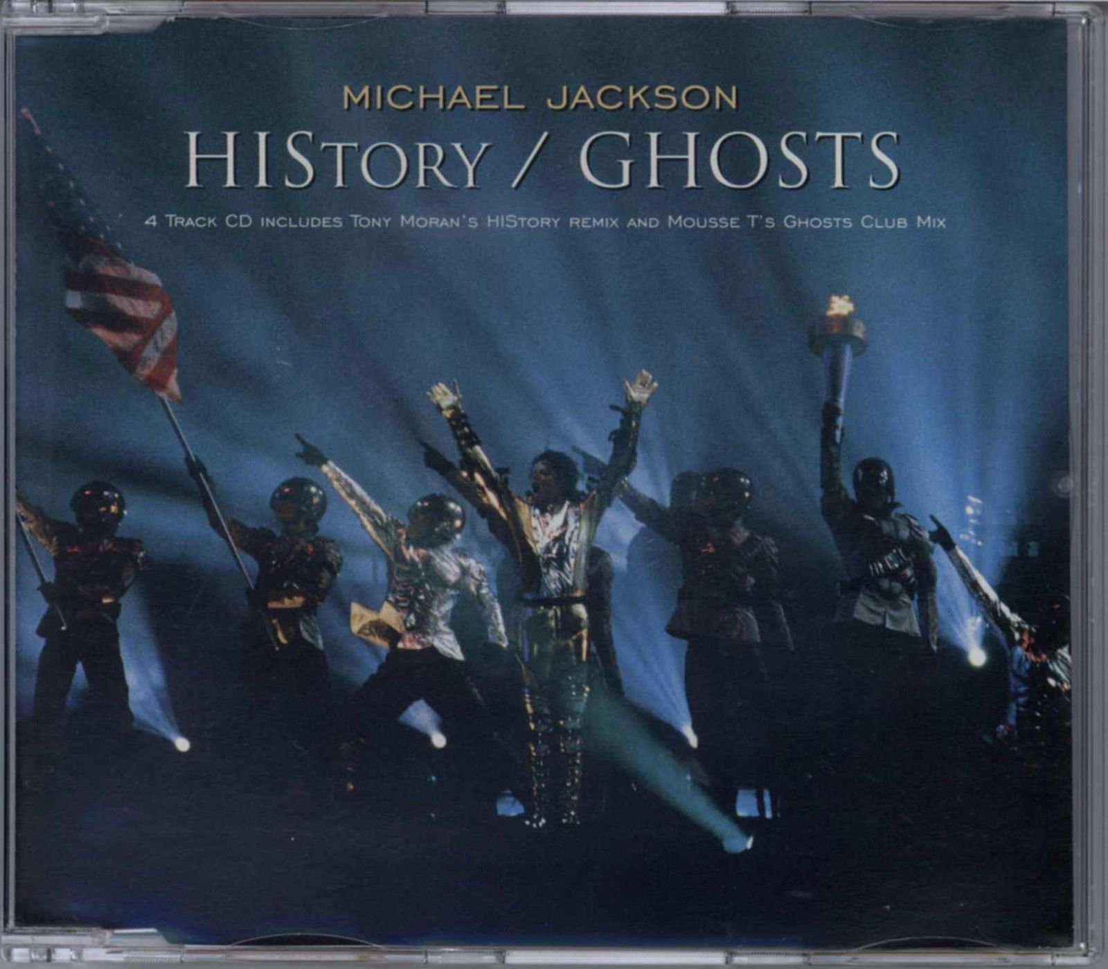 MICHAEL JACKSON - HISTORY / GHOSTS 1997 UK CD SINGLE PART 1 EPIC - 6647962