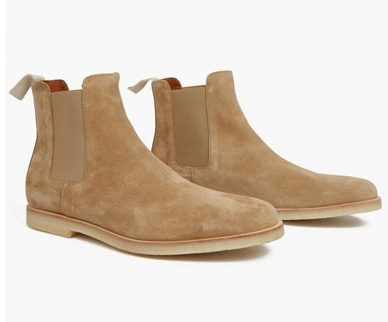 handmade crepe sole boots chelsea boot for