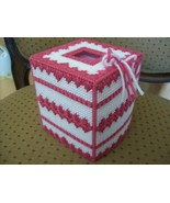 Hand crafted plastic canvas tissue box  - $12.00