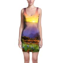 Perfect Mountain Sunset Bodycon Dress - $32.99+
