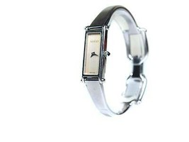 Auth GUCCI 1500L Silver Dial STAINLESS STEEL Women's Quartz Watch GW17809L - $171.17 CAD
