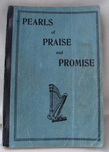 Hymnal 1936 Pearls of Praise and Promise Edward Boone Softcover USA