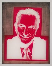 The Museum Outlet - Andy Warhol - Silkscreen for Portrait of Sidney Jani... - $19.79