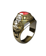 US ARMY RING LADIES TRADITIONAL-14KT GOLD - $999.00