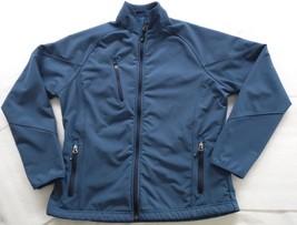 PORT AUTHORITY RN 90836/L705 - Blue MICRO FLEECEBONDED Jacket - Women's ... - $42.72