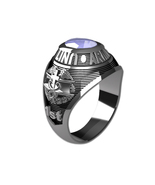 US ARMY RING LADIES TRADITIONAL-Silvertone - $199.00