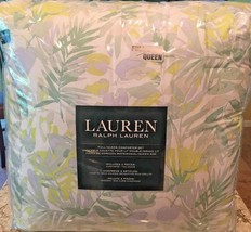 Lauren Ralph Lauren GREEN YELLOW WHITE PALM BEACH FLORAL QUEEN COMFORTER... - $148.45