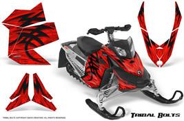 SKI-DOO Rev Xp Snowmobile Sled Creatorx Graphics Kit Wrap Tribal Bolts Red - $296.95