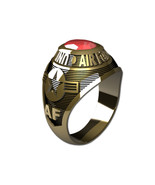 US AIR FORCE RING LADIES TRADITIONAL-14KT GOLD - $999.00
