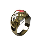 US NAVY RING LADIES TRADITIONAL-10KT GOLD - $799.00