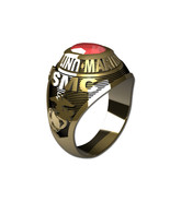 US MARINE CORPS RING LADIES TRADITIONAL-14KT GOLD - $999.00