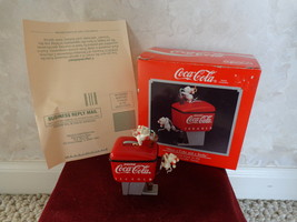 "ENESCO ""HAVE A COKE AND A SMILE"" #571512 HOLIDAY ORNAMENT (#1713) - $9.99"