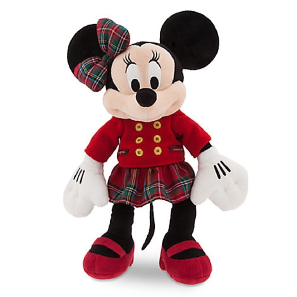 Christmas Toys Disney : Disney store minnie mouse christmas plush toy exclusive