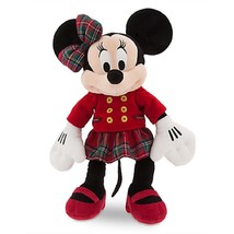 Disney Store Minnie Mouse Christmas Plush Toy Exclusive 2016 Limited New - $59.95