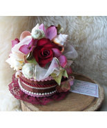 Floral Seashell Arrangement Functional Basket Chocolate Rose Box, Assort... - $59.00