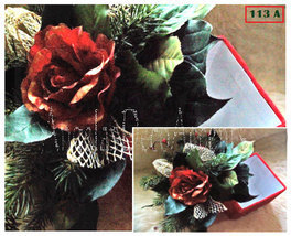 Silk Floral Arrangements Choice or 2 Gift Box Duos Winter Holiday Decor ... - $39.00