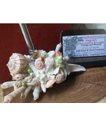 Shell Pen Holder & Paper Weight 4 Home Office Desktop for Him or Her~Uni... - $52.00+