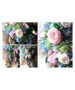"""Bridal Cascading Bouquet """"The Monet Look"""" XL 16 x 20+ Unique Heart & Gro... - $395.00+"""