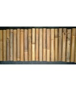 "Bamboo ""EVEN STYLE"" Garden Border Edging- Natural-Sold in 10 Ft Sections - $42.00+"