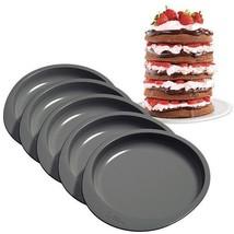 Wilton Easy Layers! 6 in. Cake Pan Set 5 Pc Rainbow Cake - ₨1,219.54 INR