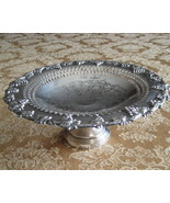 "Vintage Silverplate Wm.A. Rogers ""Old English Reproduction"" Compote Dish - $19.51"