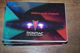 2000 pontiac grand prix owners manual new original  - $9.99