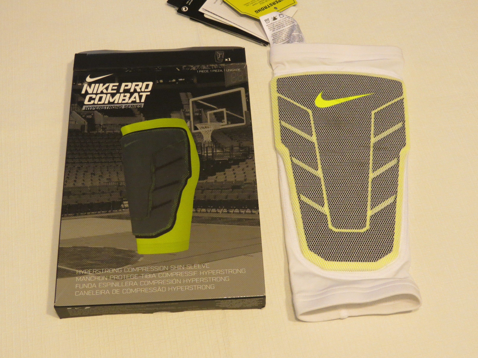 6c64d546a9 Nike Pro Combat Hyperstrong Compression Shin and 50 similar items. 57