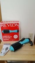 New Blue Revlon One-Step Hair Dryer & Volumizer Hot Air Brush RVDR5222D Open Box - $31.40